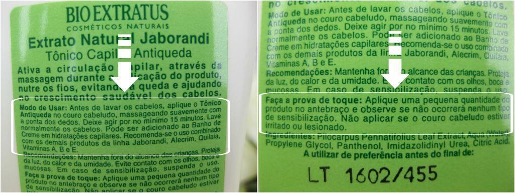 Resenha: Tônico Capilar Antiqueda Jaborandi Bio Extratus! | Blog da Ana