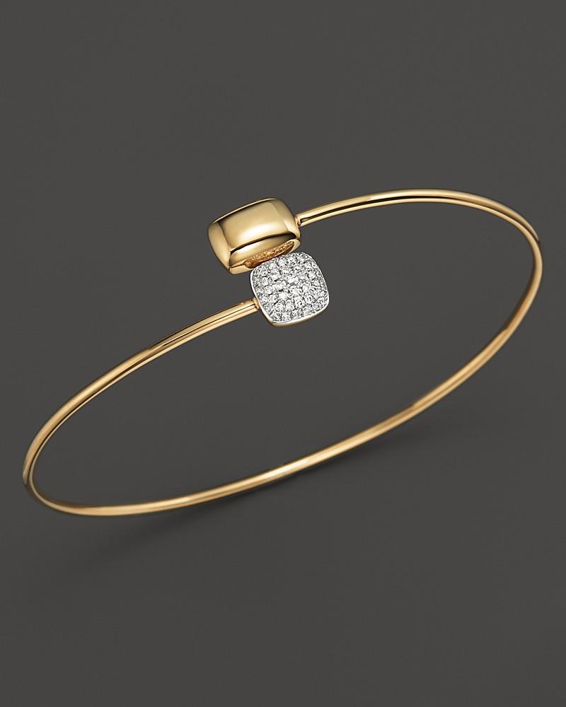 1,200.00$  Watch now - http://vicis.justgood.pw/vig/item.php?t=hsavs725307 - KC Designs Diamond Square & Rectangle Bracelet in 14K Yellow Gold
