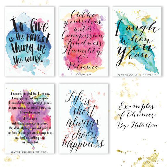 Custom Quote Prints Unique Quotes  Custom Quote Print  Quote Prints  Love Quote Print