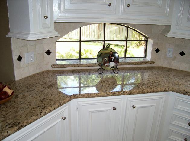 best tile backsplash for giallo ornamental counter google search yellow ornamental