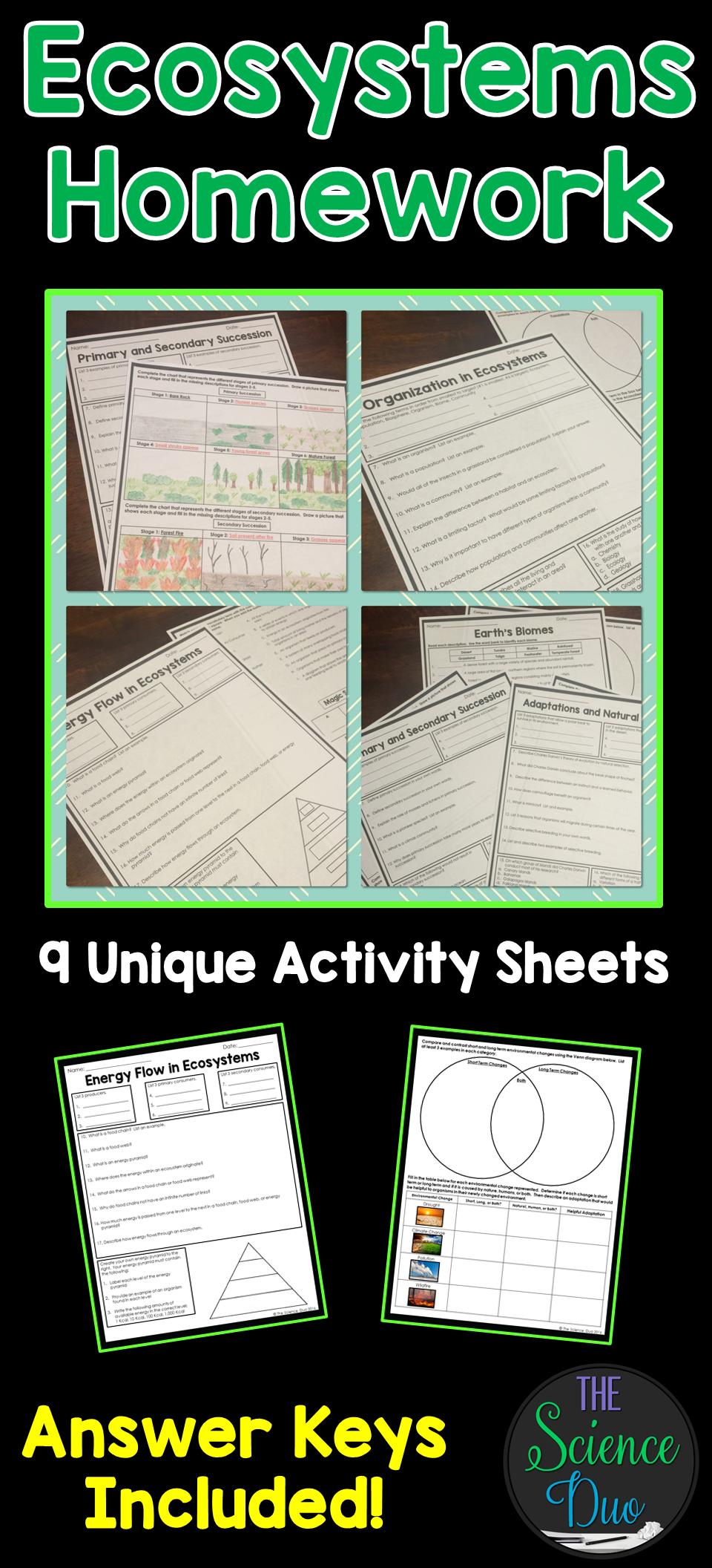 Homework help environmental science