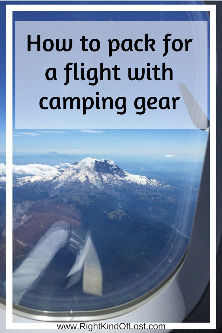 Photo of Flying with camping gear dos and don'ts – Right Kind Of Lost