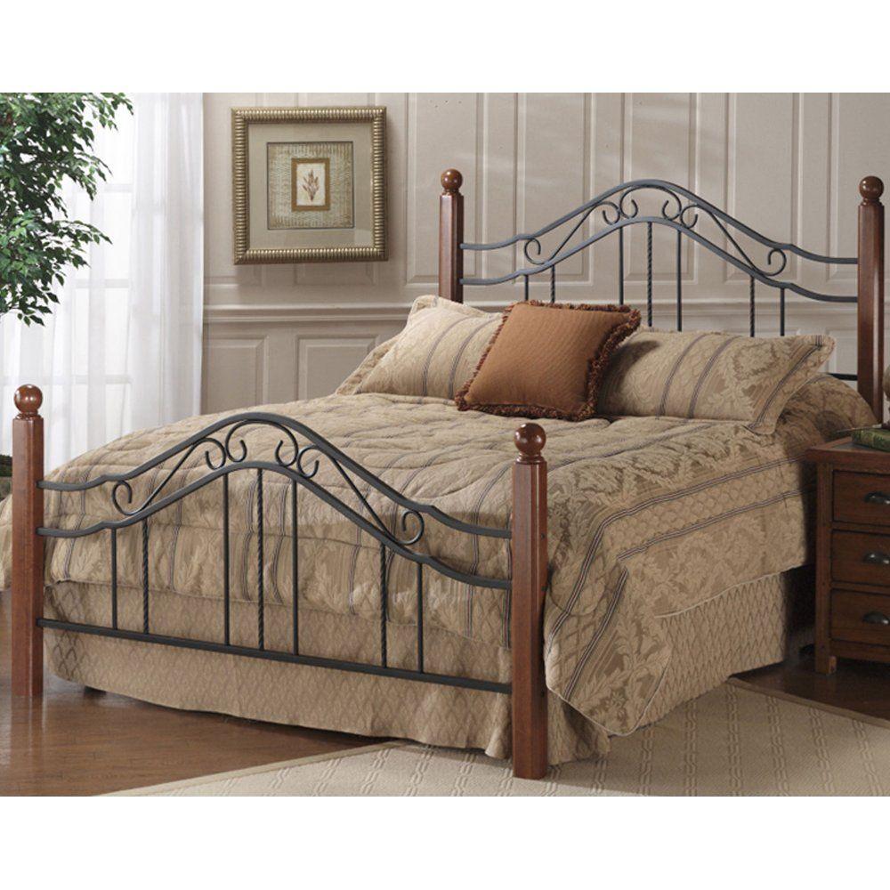 Wood Iron Bed Hillsdale Furniture Iron Headboard Furniture