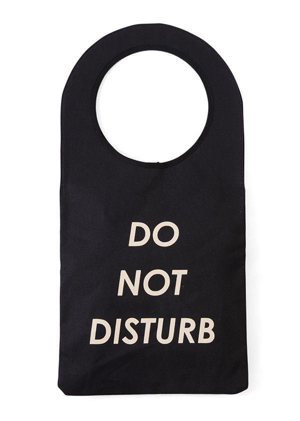 Do Not Disturb Bag from Aquivii Japan