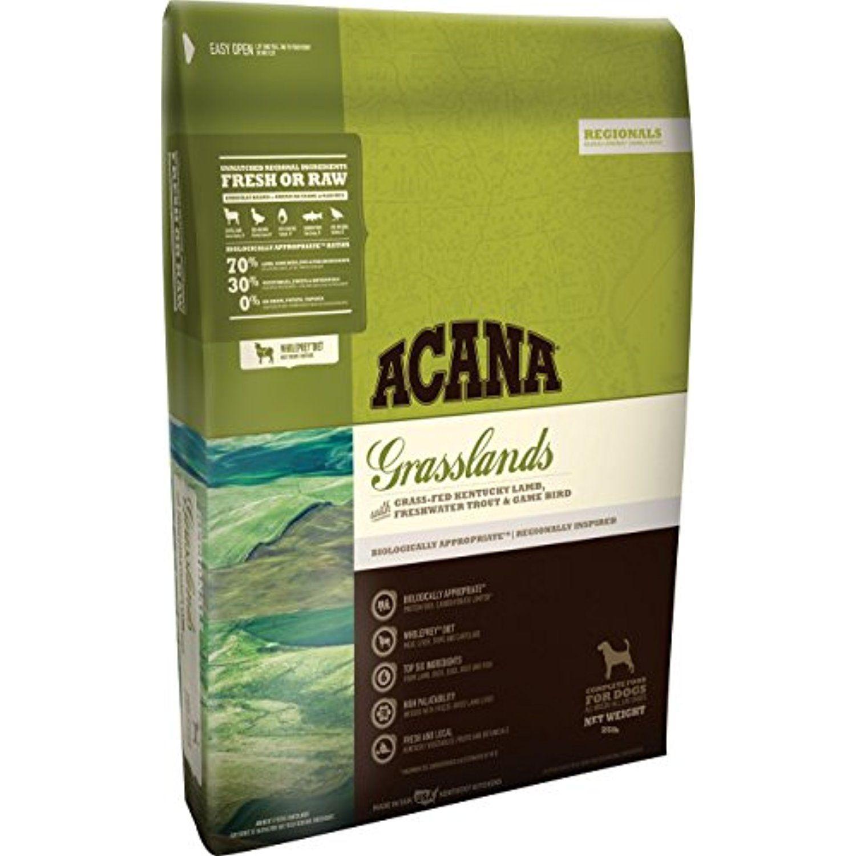 Orijen Acana Regionals Grasslands Dry Dog Food, 25 lb