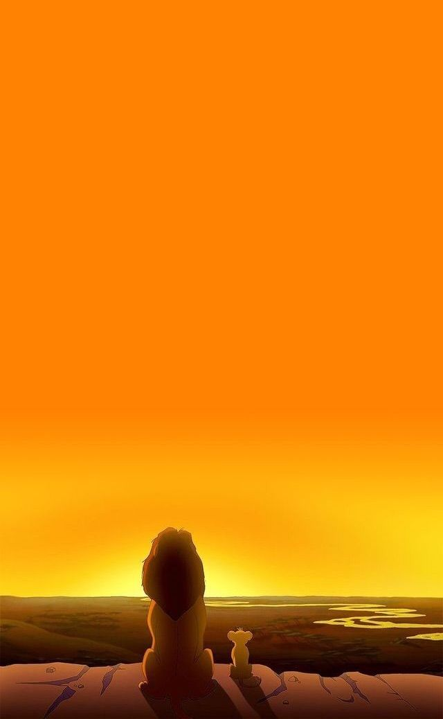 #aesthetic #orange #lionking