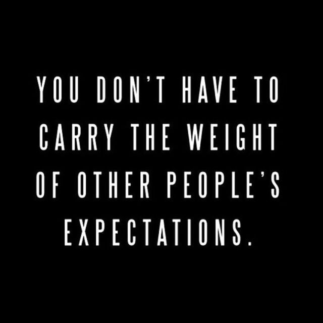 You Dont Have To Carry The Weight Of Other Peoples