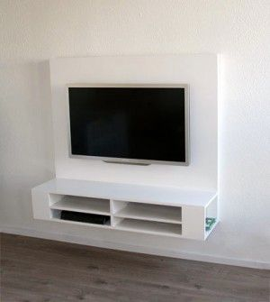 die besten 25 tv wand zelfbouw ideen auf pinterest tv m bel lift tv m bel tv versenkbar und. Black Bedroom Furniture Sets. Home Design Ideas