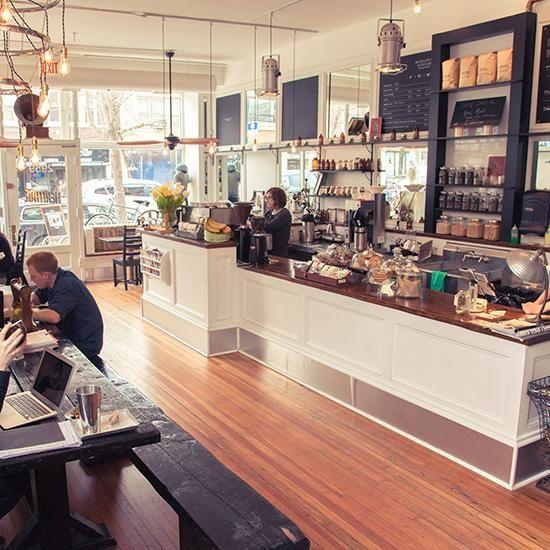 Hybrid coffee shops deco cafe salons de th et ardoise - Les etageres funky d de quirky ...