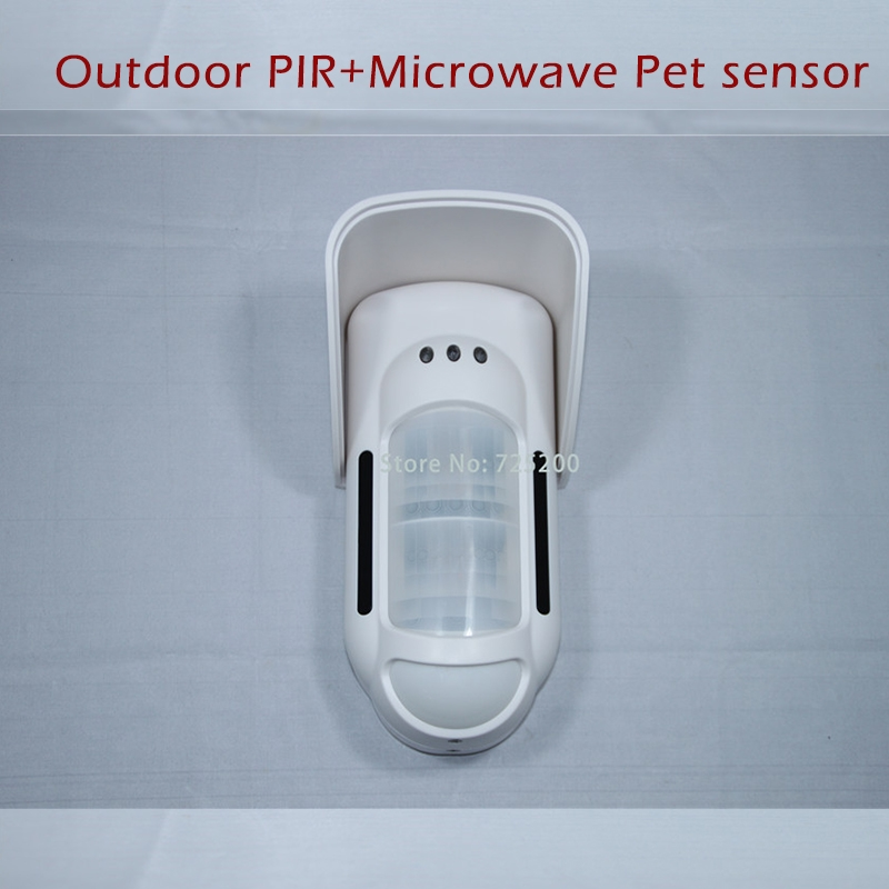 (105.68$)  Know more - http://aii1d.worlditems.win/all/product.php?id=32618568386 - FT-89R Wireless Microwave+PIR Motion Detector Pet-friendly Motion Sensor External Outdoor Waterproof for Meian Wireless Alarme