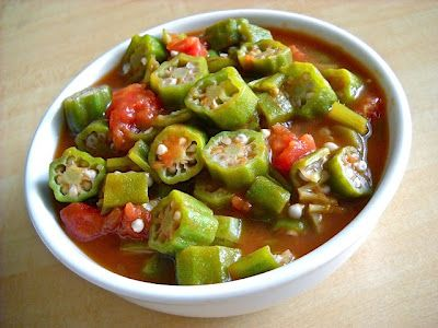 Stewed Okra & Tomatoes | Budget Bytes