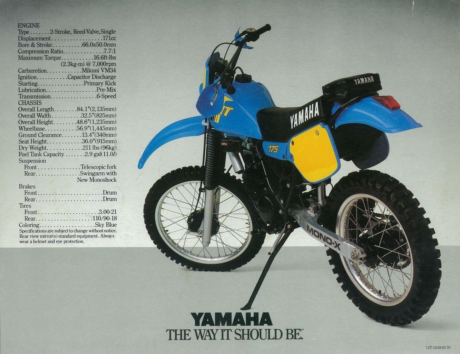 Yamaha wiring diagram it175