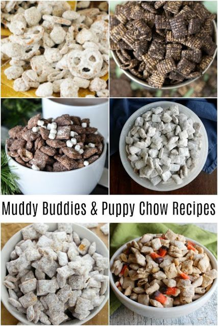 Our Favorite Puppy Chow And Muddy Buddy Snack Mix Recipes Puppy Chow Snack Mix Puppy Chow Recipes Puppy Chow