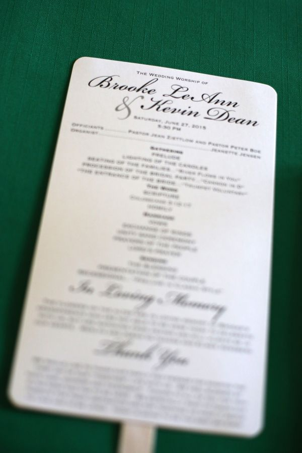 Kirchenheft Hochzeit Brautissimo