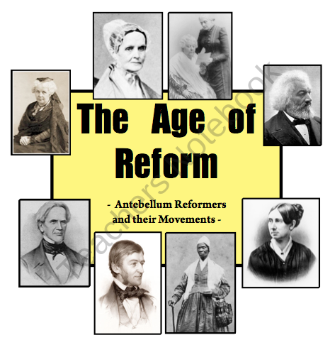 Image result for antebellum reformers