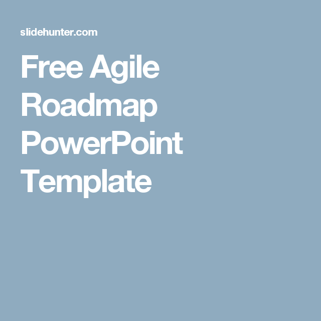 free agile roadmap powerpoint template agile templates