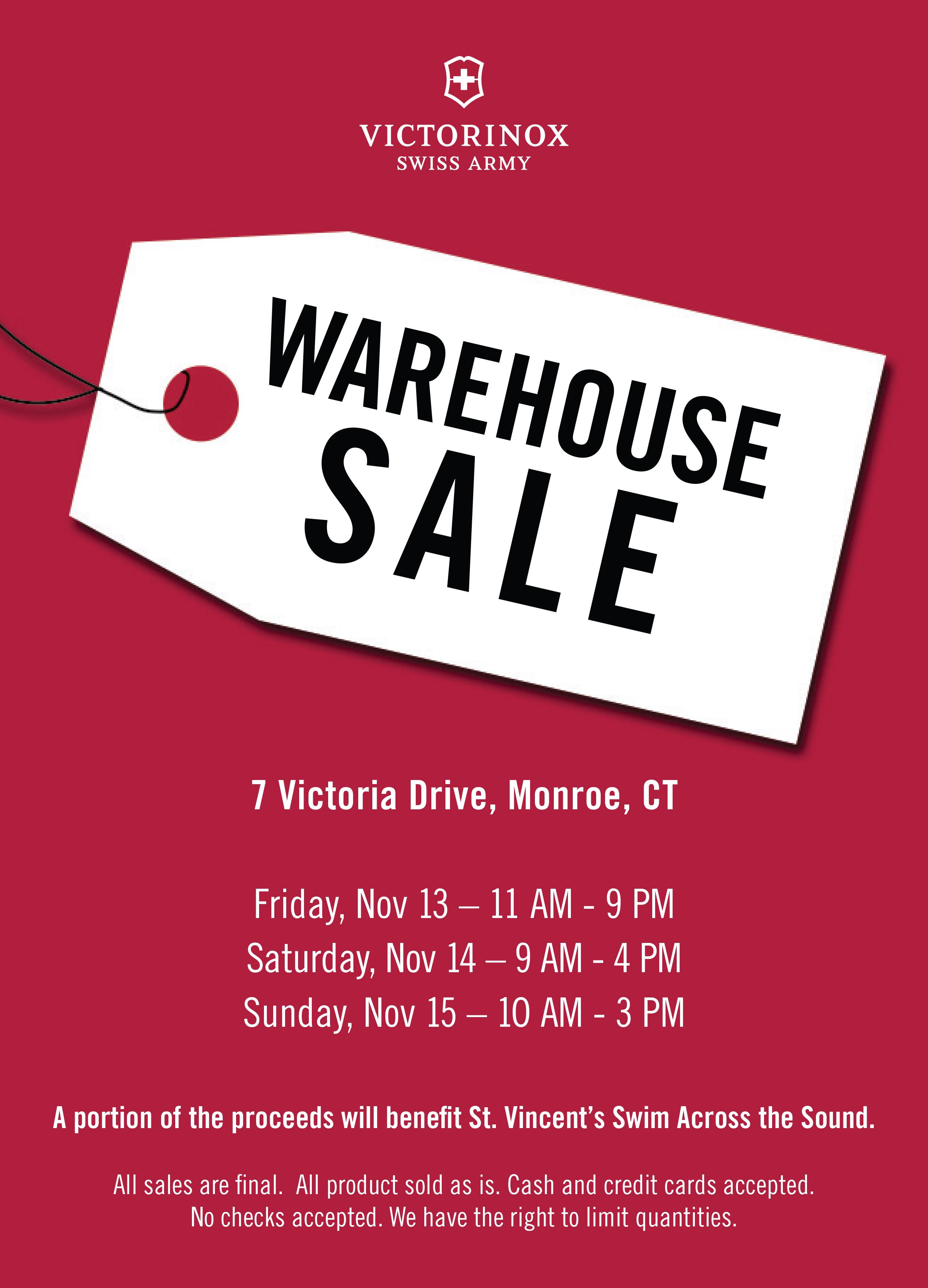 Victorinox Swiss Army S Fall Warehouse Sale Is Back Come