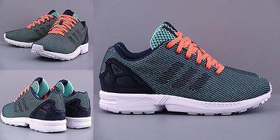 4fa447539 ... sweden adidas originals zx flux weave new mens shoes m19871 green  sneakers new ebay e1c4a f65b2