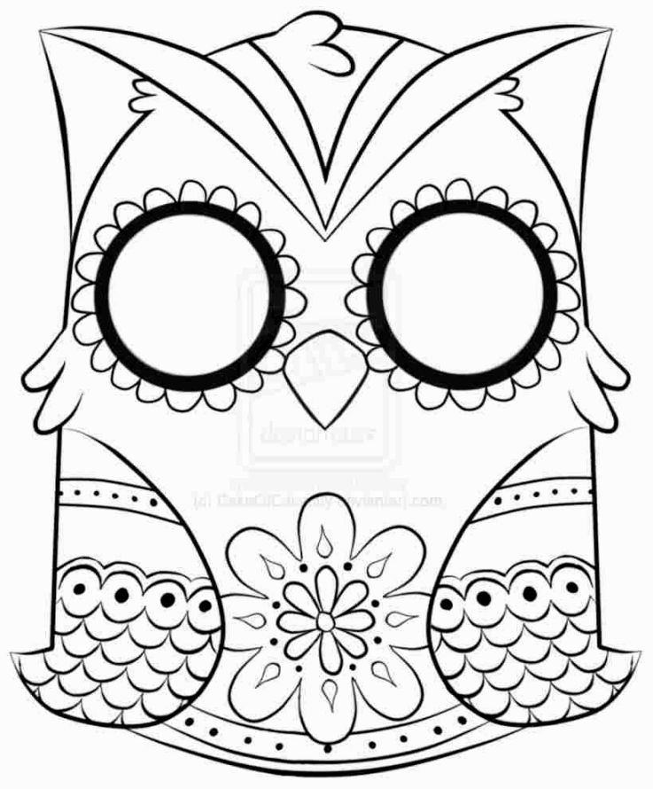 Skull Coloring Pages To Print Coloring Pages Pinterest Printing - copy coloring pages of cartoon owls