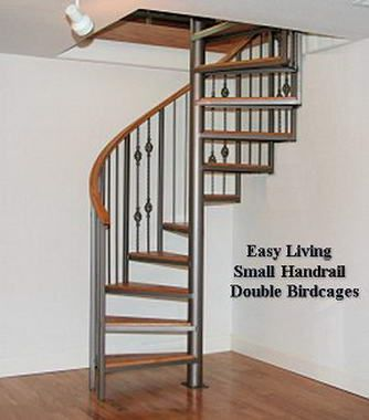 Best Spiral Staircase To Basement Top View Google Search 400 x 300