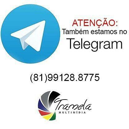 O whatsapp foi suspenso mais uma vez? Não tem problema também estamos no telegram.  #vamostramelar #tramelamultimídia #whatsapp #telegram #fotos #fotografia #photos #photography