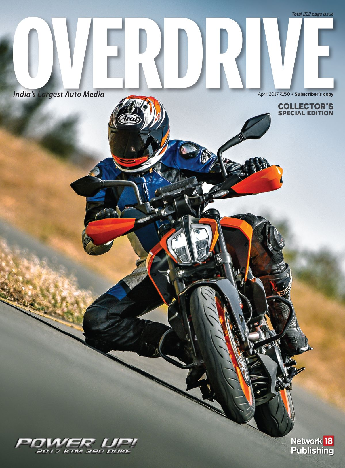 Overdrive Magazine April 2017 Subscriber Cover Bike Prices