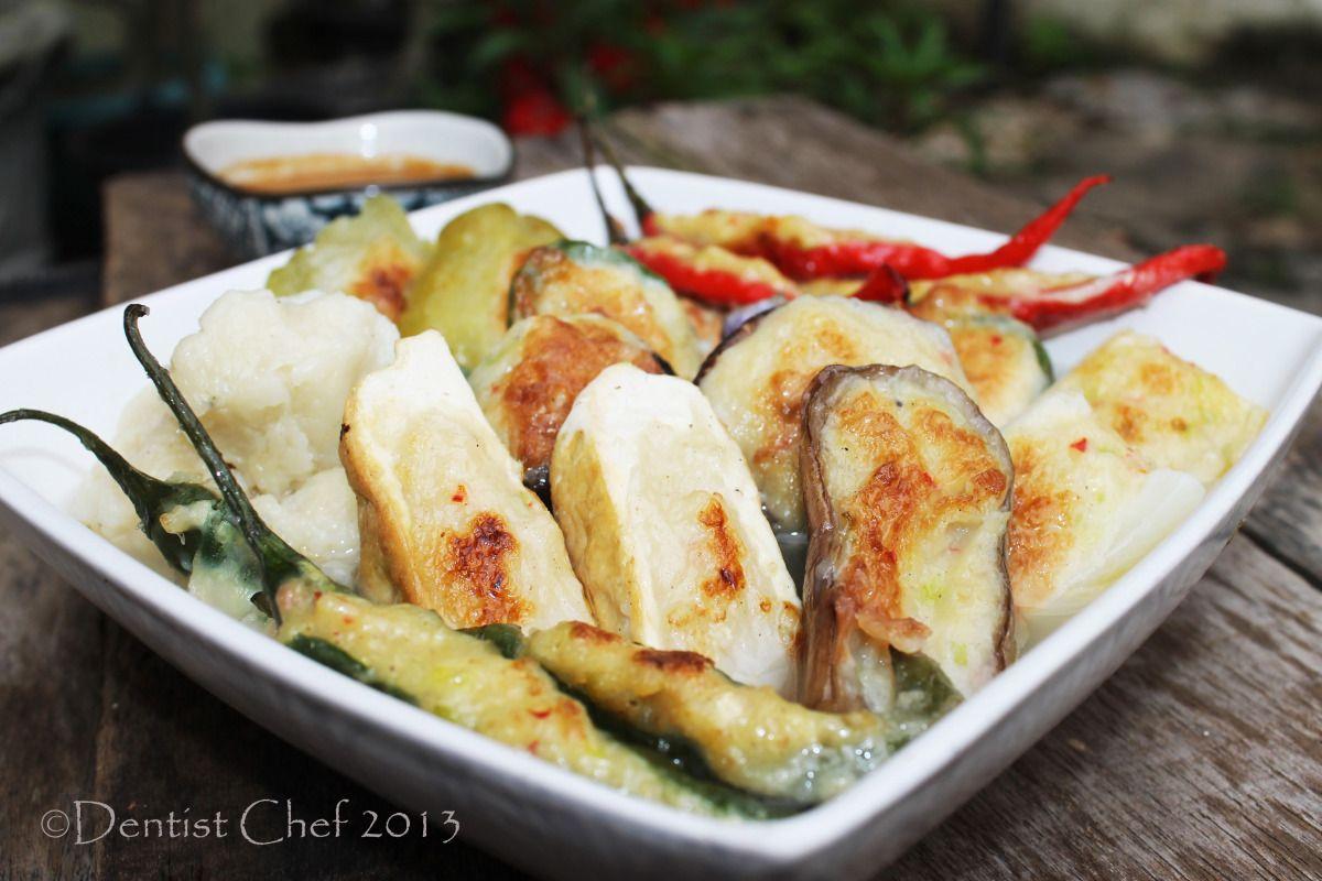 Yong Tau Foo Recipe (Fish Paste Stuffed Tofu,Tahu Isi Ikan)