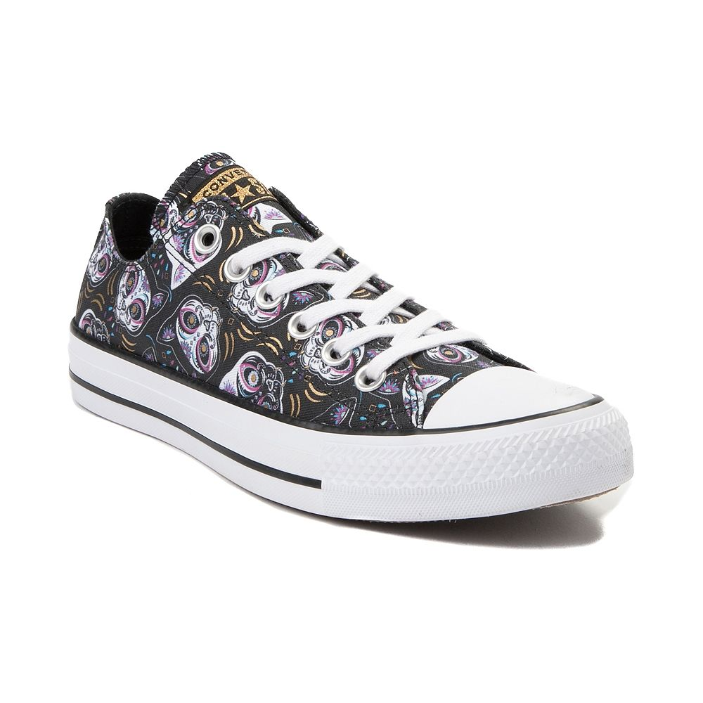 359ba30fe0e9 Converse Chuck Taylor All Star Lo Sugar Skull Cats Sneaker - Black - 399591