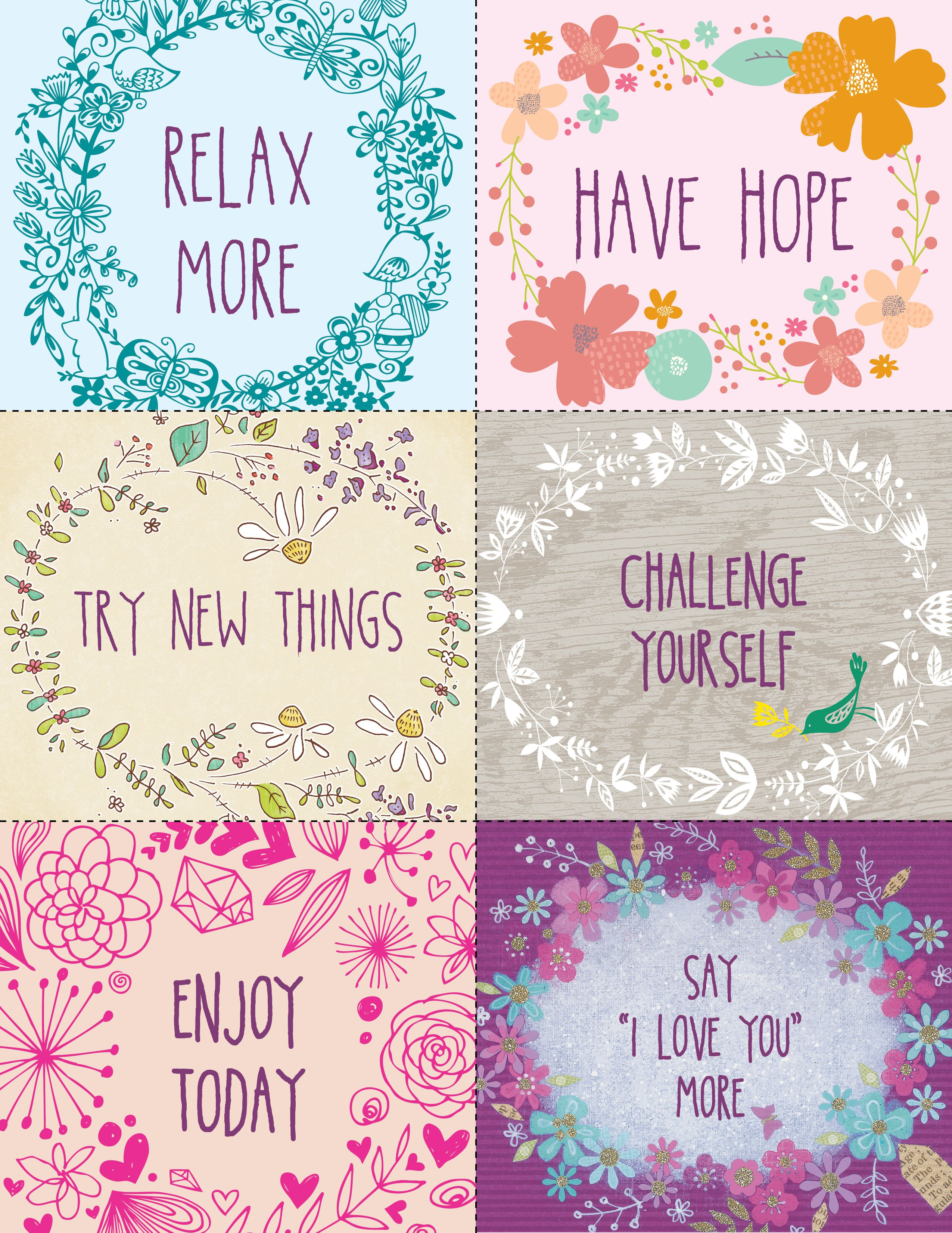 New Years Resolutions Blue Mountain Blog Inspirational Printables Planner Free Printables
