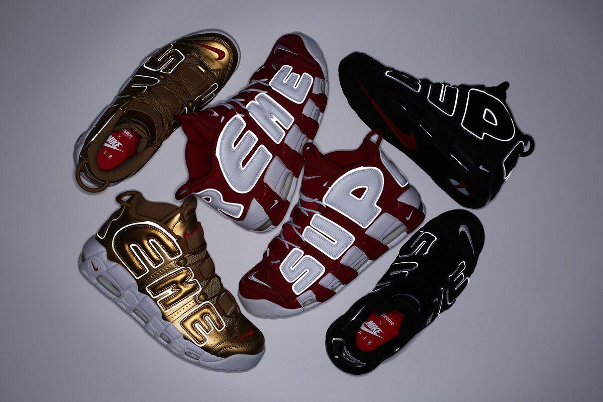 Supreme x Nike Air More Uptempo: Releasing 27th of April - EU Kicks: Sneaker
