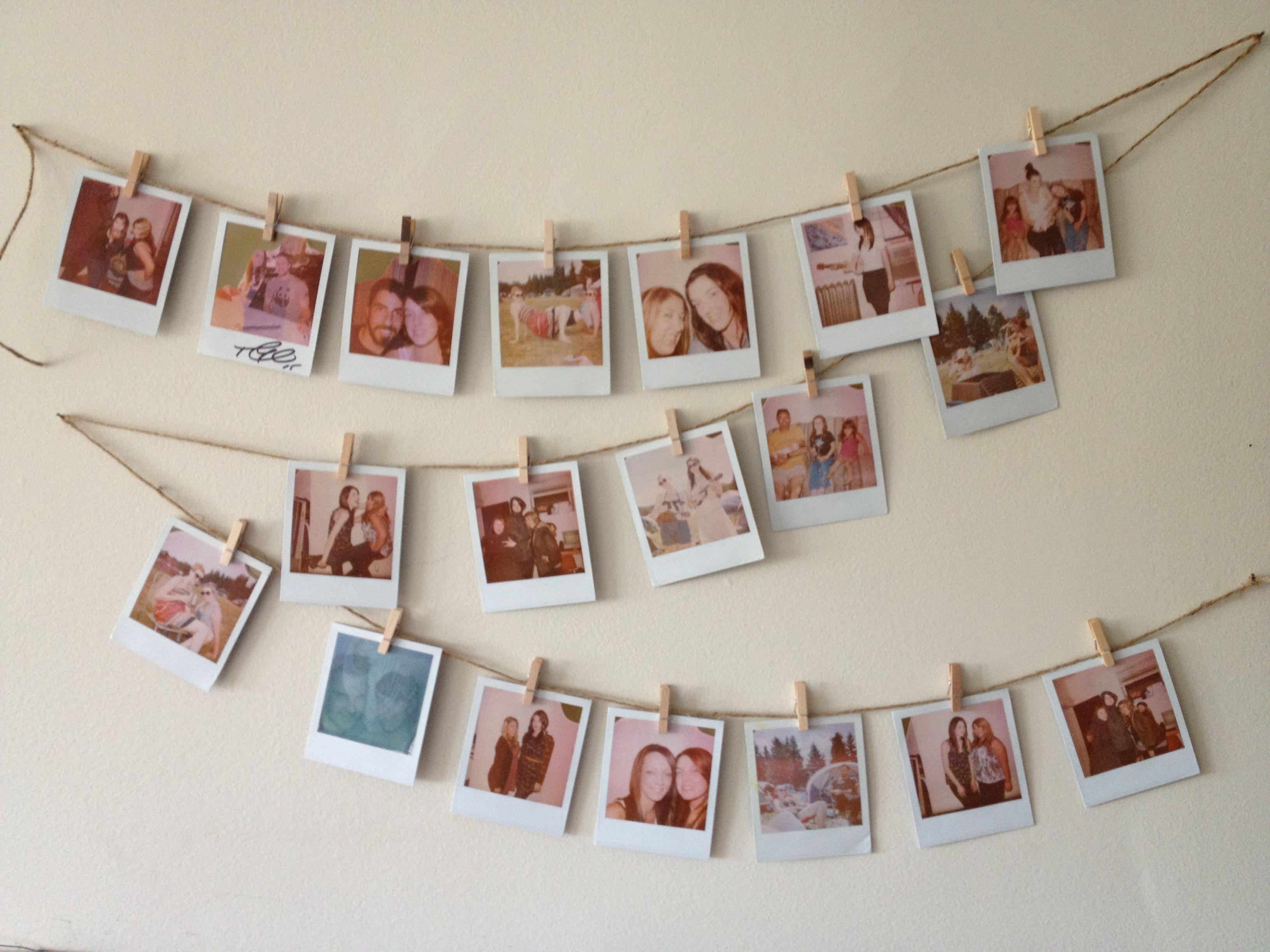 Pin Von Aysel Baxsiyeva Auf A House Is A Home Diy Fotowand Fotos Aufhängen Bilder Aufhängen