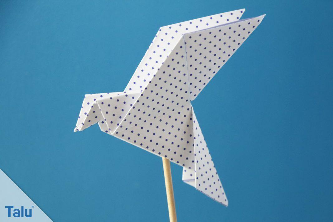 Origami Taube Anleitung