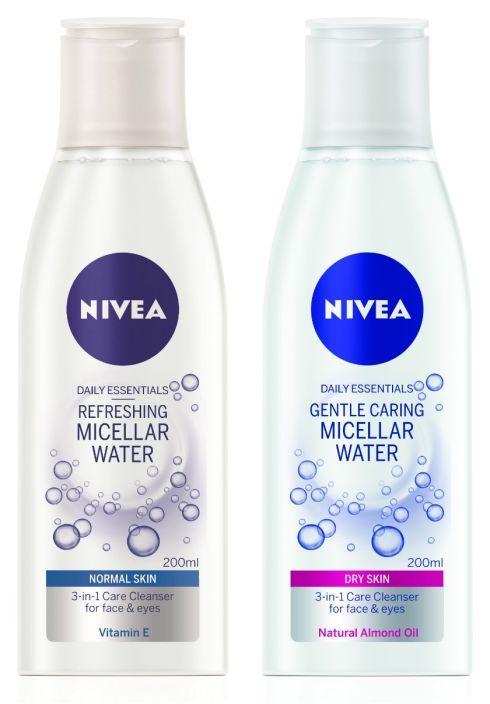 Nivea 3 1 Sensitive Caring Micellar Water Eye Vitamins Nivea Micellar