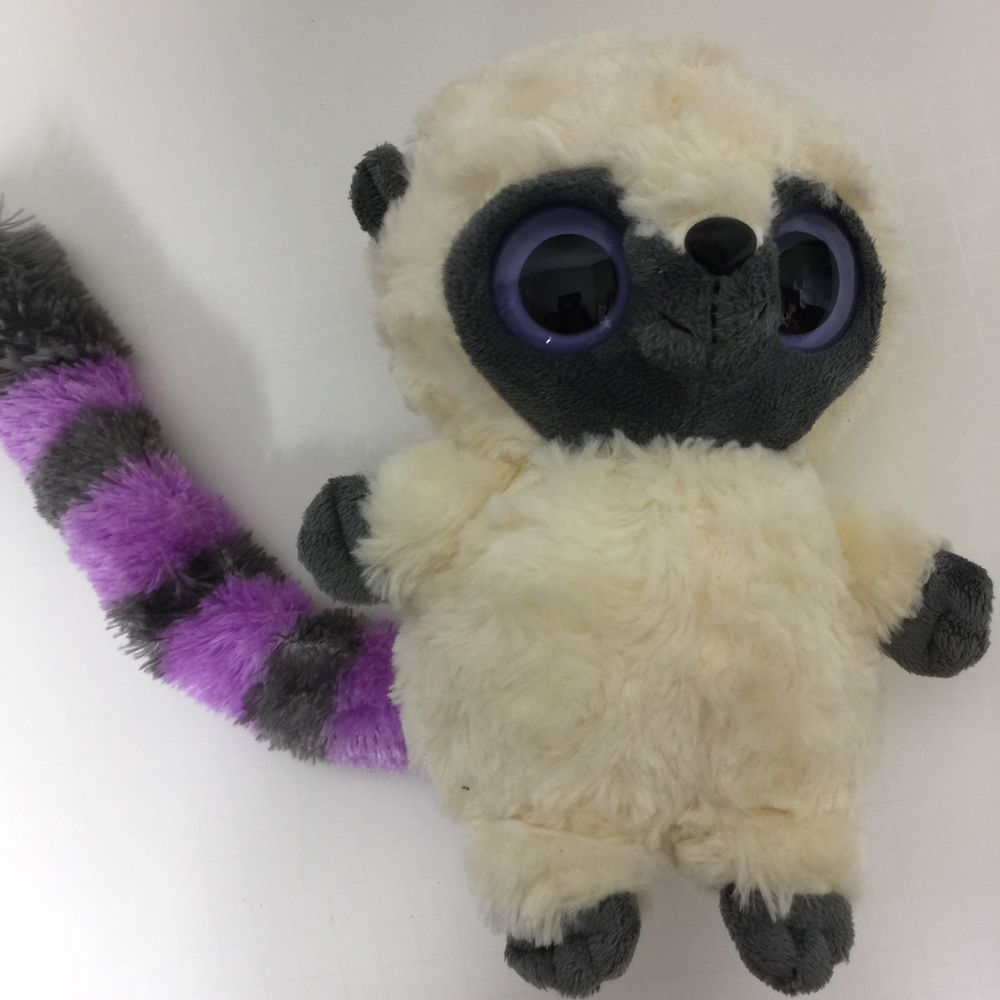 Predownload: Aurora Yoohoo Plush 8 Bush Baby Lemur Soft Big Eye Purple Striped Tail W Sound Auroraworld Baby Lemur Soft Stuffed Animals Big Eyes [ 1000 x 1000 Pixel ]