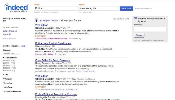 The Best Job Search Websites  Apps Dream job