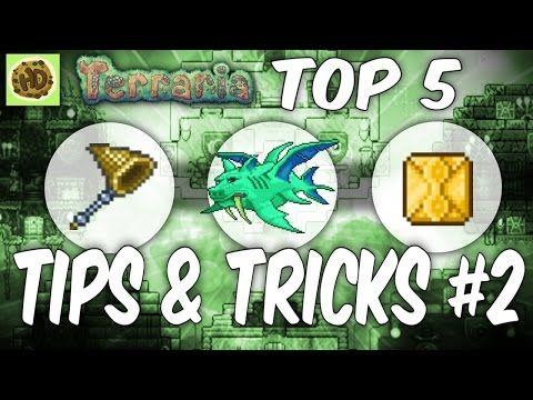 Terraria 1.3 Top Tips & Tricks 2 1.3 Tutorial Glitch