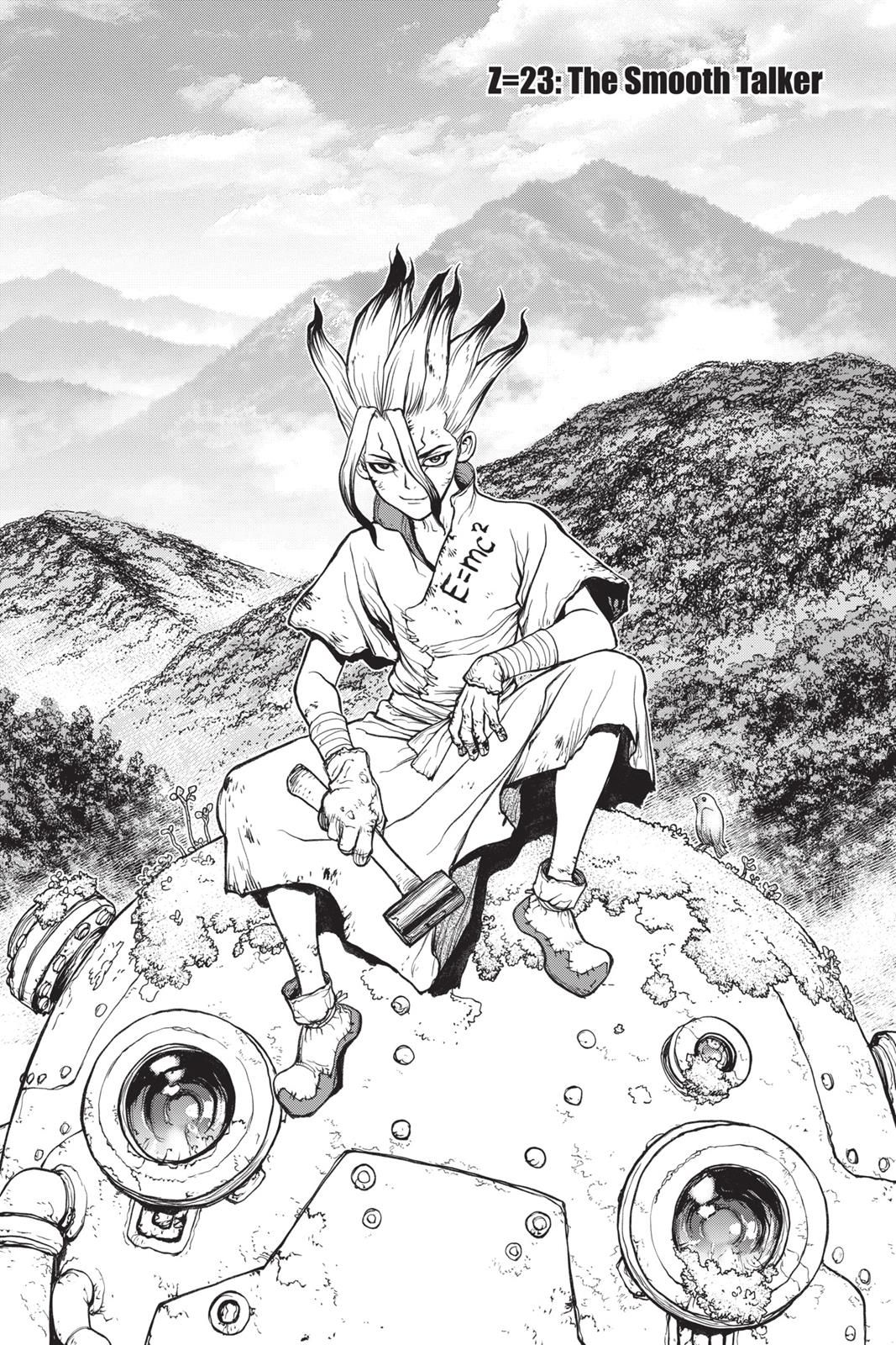 Dr. Stone Chapter 23