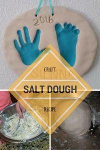 Salt Dough Recipe - Handprints & Footprints | Just Playing House