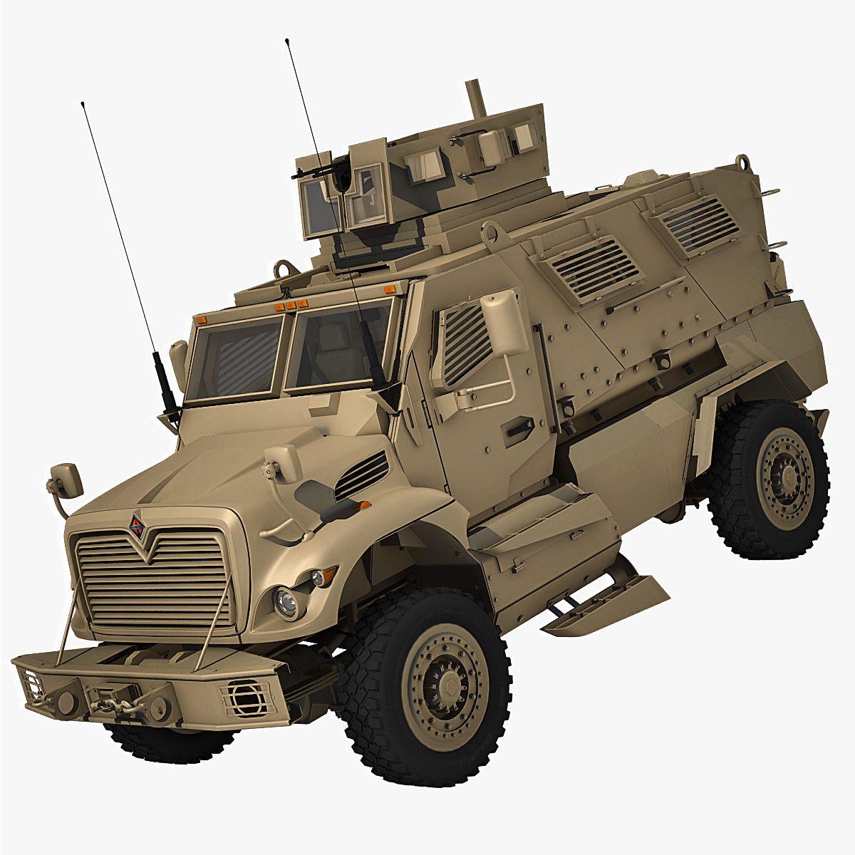 Maxx Pro International Category 3d model Military