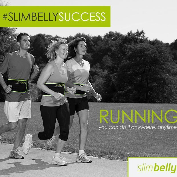 Running is one of the greatest cardio workouts we can do. It helps strengthen our muscles and gives a kick-butt cardio workout. And if you have a pair of running shoes -you can do it practically everywhere! Add running to your 30 Days to #SlimBellySuccess www.slimbellysystem.com