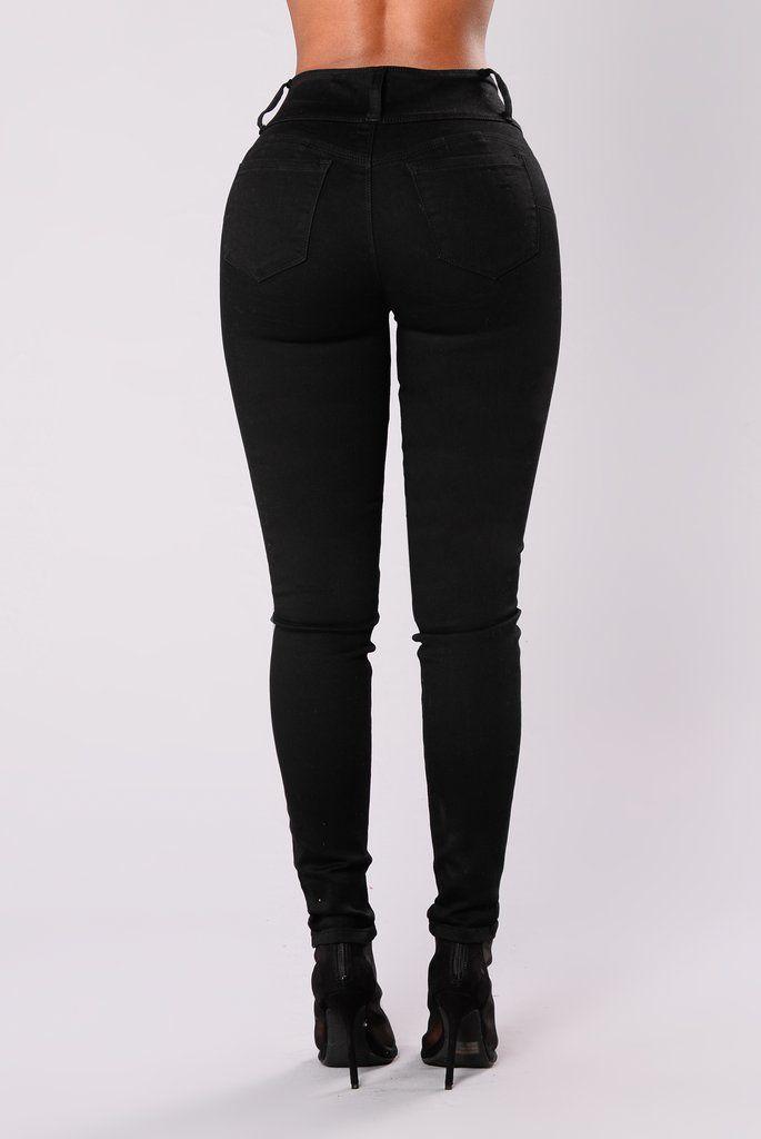 fbedb73990f Marathon Booty Lifting Jeans - Black