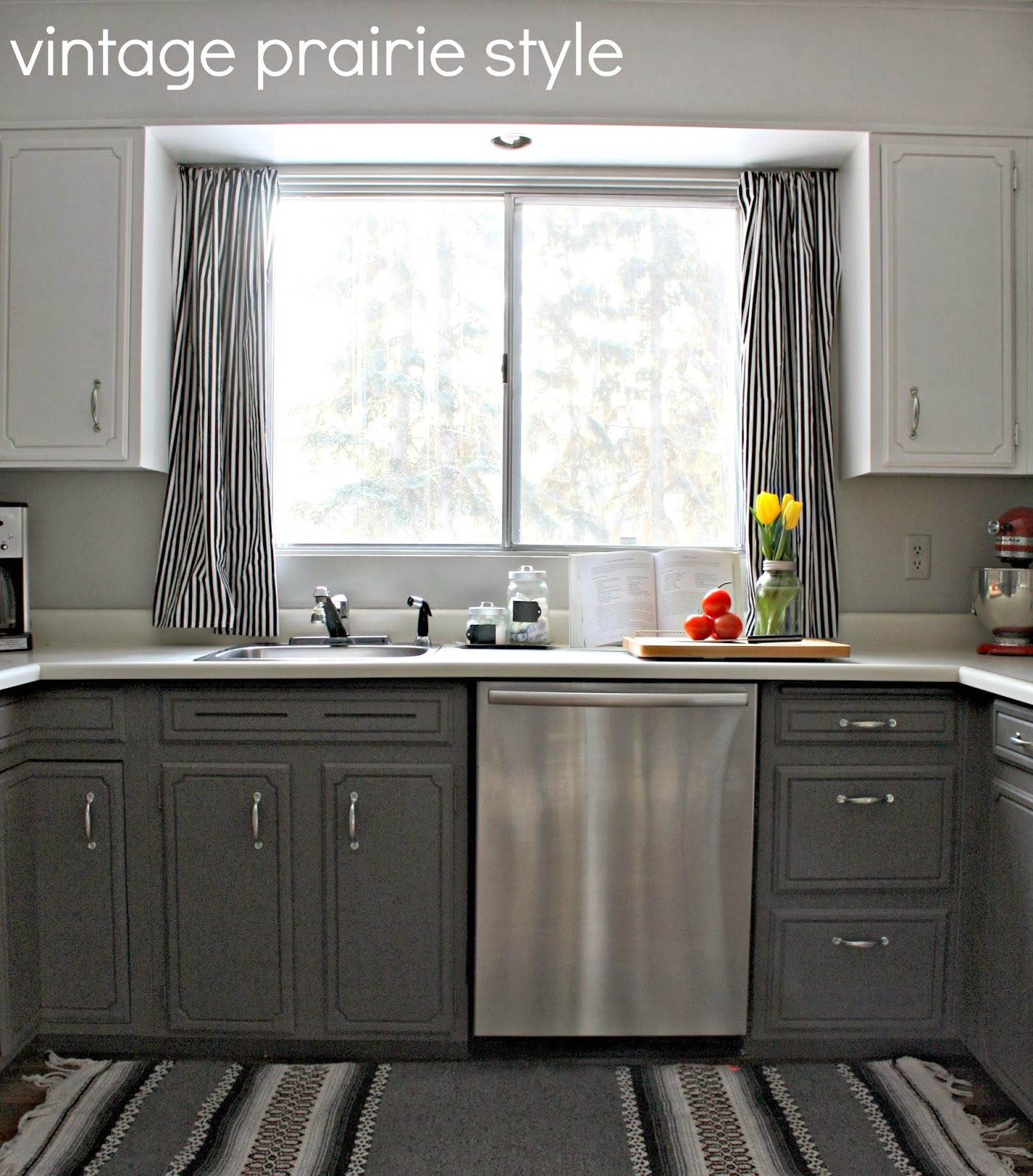 vintage prairie style: I've changed our kitchen... again ...