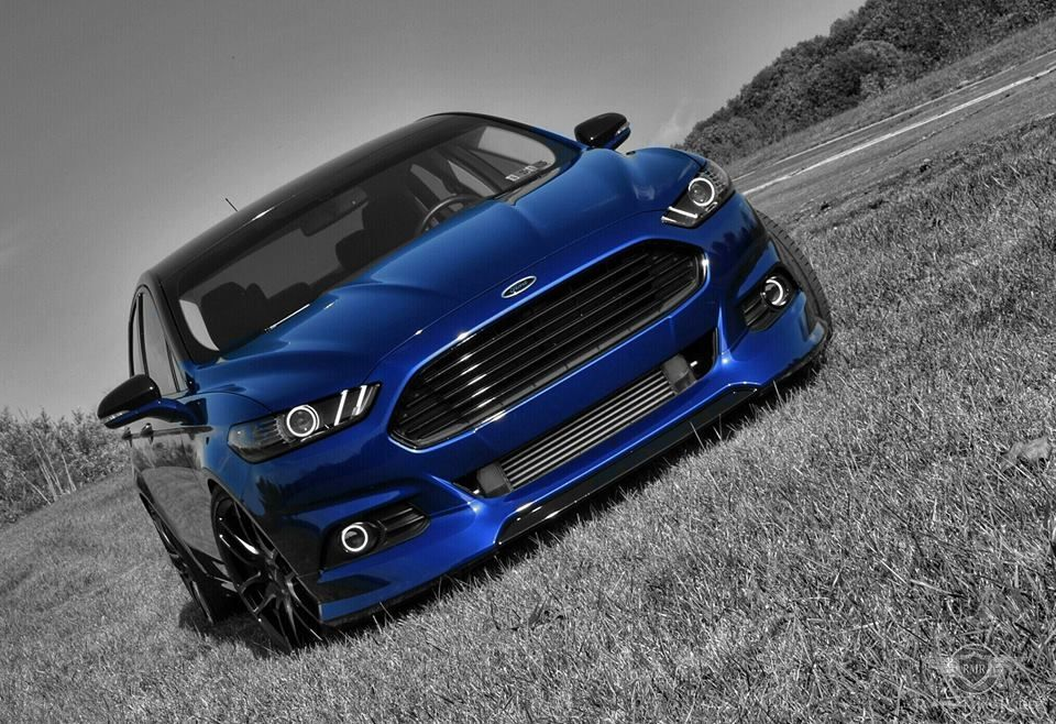 2013 Ford Fusion Lowered Mondeo Fusion Fusion Blue Ford