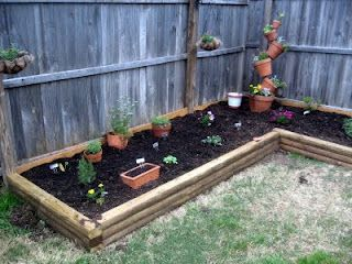 next project building raised planting beds along fence line - Garden Ideas Along Fence Line