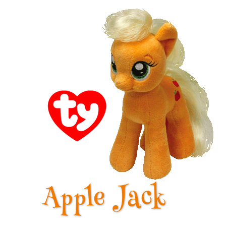 a0df417bb2b My Little Pony Apple Jack Beanie Baby!  MLP