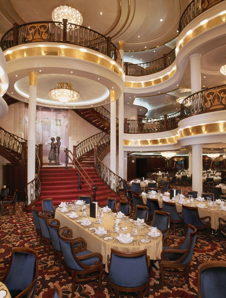 Royal Caribbean Mariner Of The Seas Three-level Dining