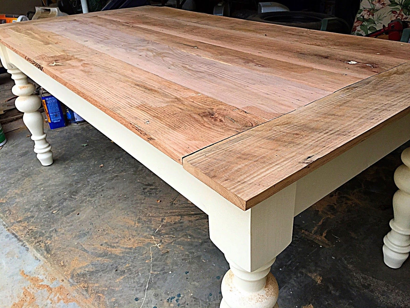 A Paper Palette Totally Off The Subject Farmhouse Table Made Of Reclaimed 100 Year Old Barnwood