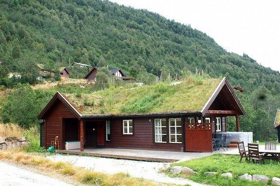 Flott moderne hytte med 10 sengeplassar og god beliggenheit.