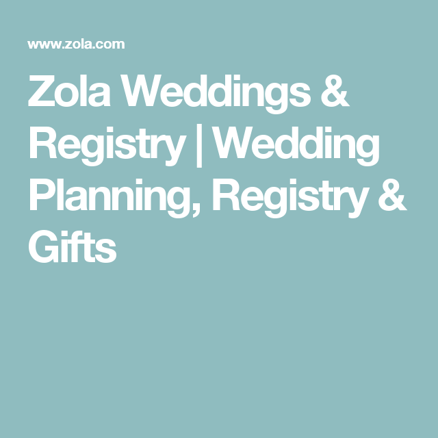 Best Honeymoon Registry: Zola Weddings & Registry