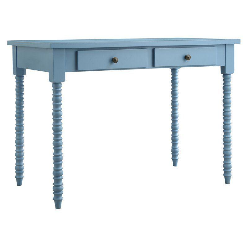 Weston Home Writing Desk with Helix Legs - E577A-BU(3A)
